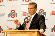 Urban Meyer takes over the Buckeyes (US PRESSWIRE/Greg Bartram)