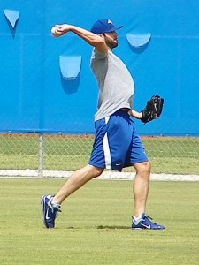 Morrow had a rehab stint in July a year ago as well (Eddie Michels / RSEN file photo)