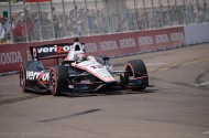 Will Power on his way to the pole (photo: Rodney Meyering/RSEN)
