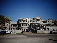 Phillies 1B Ryan Howard's $23-million home on Bellaire Beach south of Clearwater Beach appears to be making progress.  It now has a roof on it which it didn't have prior to spring training this year. (EDDIE MICHELS/PHOTO)