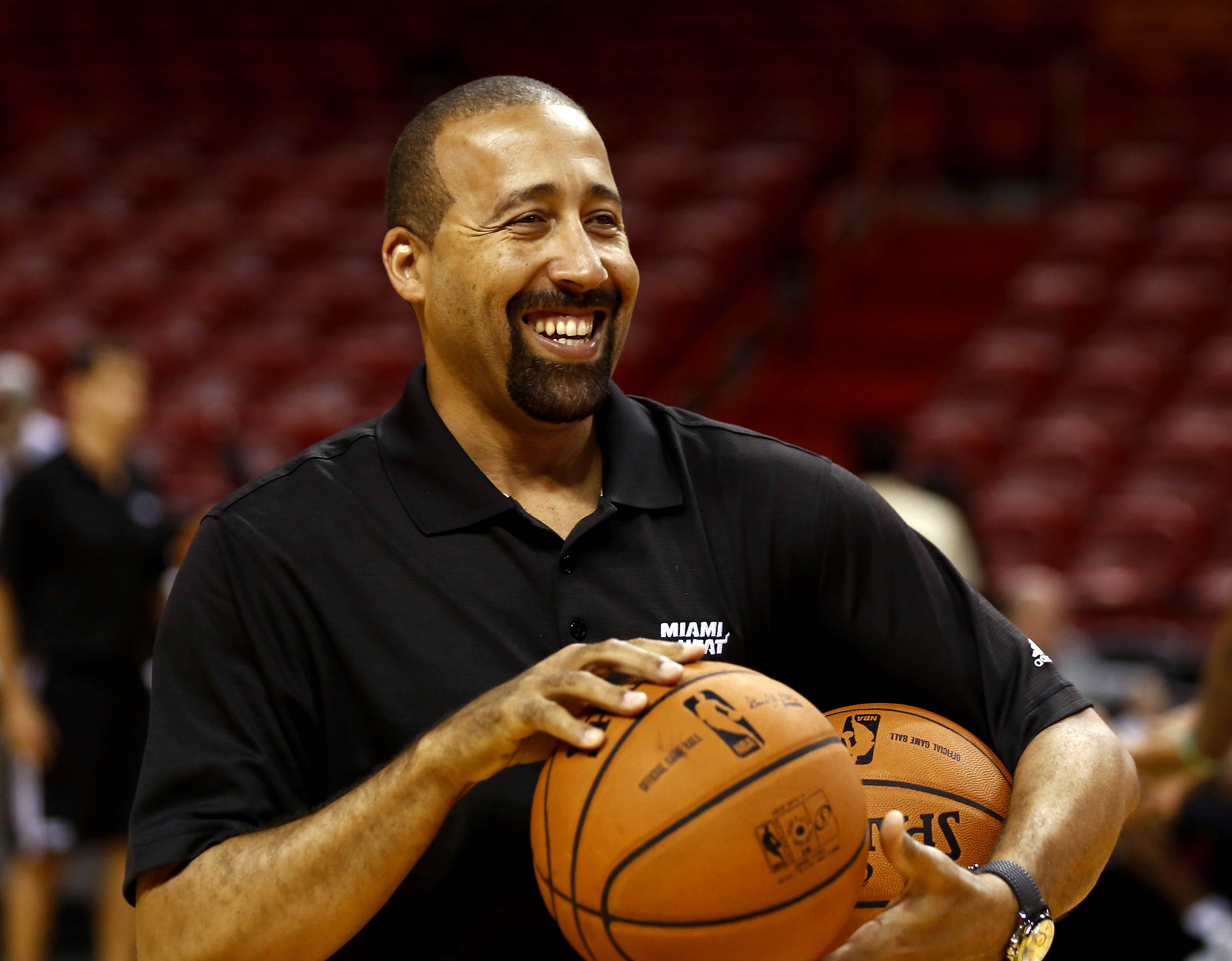 DAVID FIZDALE,  MIAMI HEAT -  ASSISTANT COACH/DIRECTOR OF PLAYER DEVELOPMENT  (photo: Robert Mayer / USA TODAY Sports)