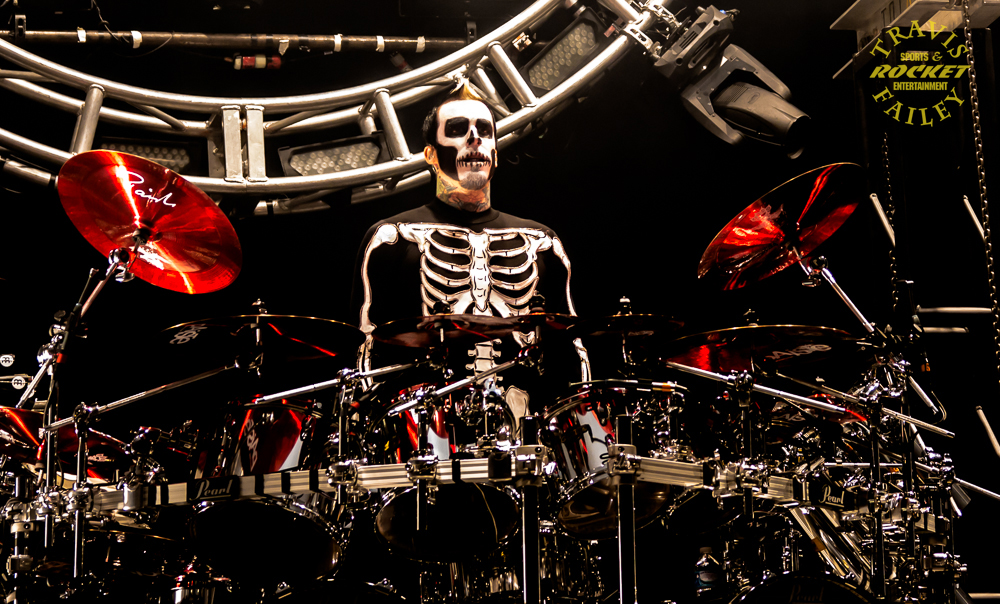 Gallery images and information: Jeremy Spencer White Drum Kit White Drum Set Silhouette