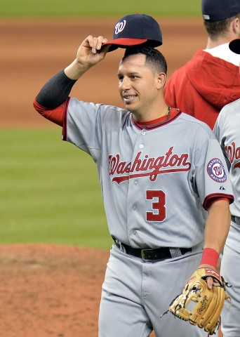 Asdrubal Cabrera (photo USA TODAY Sports / Steve Mitchell)