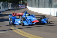 #10 Tony Kanaan finished 3rd breaking up the team Penske dominance.  Penske place 1st, 2nd, 4th and 5th (photo Rodney Meyering  / RSEN)
