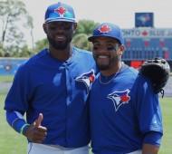 Jose Reyes (left) and Devon Travis - KEYSTONE COMBO (EDDIE MICHELS PHOTO)