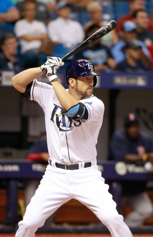 Steven Souza Jr. at bat against the Boston Red Sox at Tropicana Field. (USA TODAY Sports - Kim Klement)
