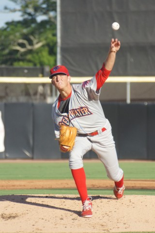Brandon Leibrandt son of former major league pitcher Charlie Leibrandt (EDDIE MICHELS PHOTO)