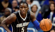 Nov 25, 2015; Orlando, FL, USA; Orlando Magic guard Victor Oladipo (5) drives the ball down court during the second half of a basketball game against the New York Knicks at Amway Center. The Magic won 100-91. Mandatory Credit: Reinhold Matay-USA TODAY Sports
