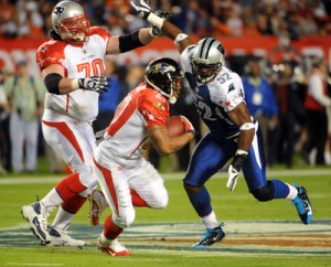 Pro Bowl beater: Ray Rice (PR PHOTO)