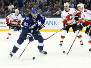 Steven Stamkos, Tampa Bay Lightning (photo by USPresswire/Kim Klement)