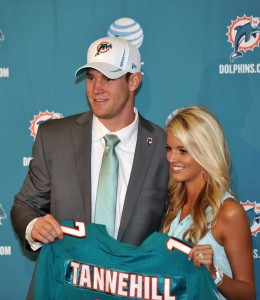 13)   Miami (5-3) Ryan Tannehill looks like he is starting to put it together. With the weapons he has on offense, and the NFL's 3rd ranked defense, the Dolphins are starting to look dangerous (Steve Mitchell / US PRESSWIRE)