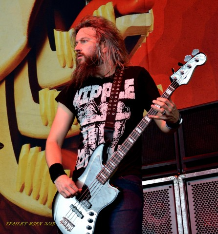 Troy Sanders, Mastodon (photo Travis Failey / RSEN)