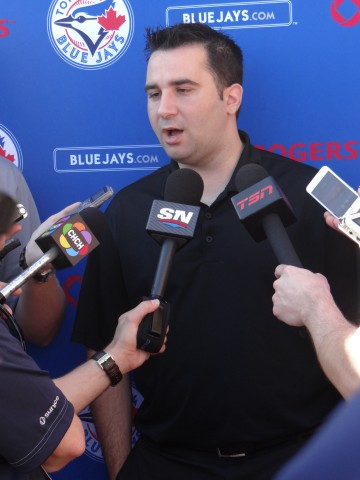 Alex Anthopoulos (EDDIE MICHELS/PHOTO)