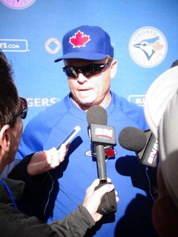 Blue Jays Manager John Gibbons. (EDDIE MICHELS/PHOTO)