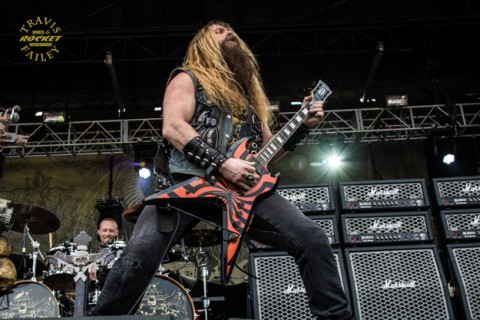 Zack Wylde at 2014 Rockville in Jacksonville,  Florida (photo by Travis Failey / RSEN)