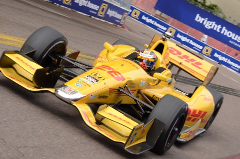 In St. Pete it was a 3rd place, but VICTORY at the Brickyard! (photo Rod Meyering / RSEN)