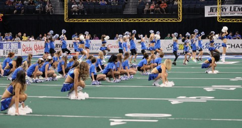 STORM CHEERLEADERS! (photo by Chuck Green / Cg Photography)