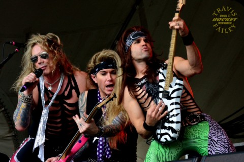 STEEL PANTHER (photo by Travis Failey / RSEN)