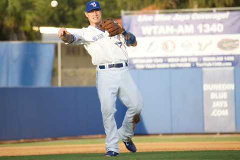 Lawrie  played one game at second, 8-1-14 and two at third 8-2 and 3, 2014 (EDDIE MICHELS PHOTO)