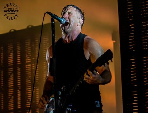 Nine Inch Nails iconic frontman Trent Reznor (photo Travis Failey / RSEN)