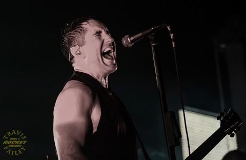 Trent Reznor NINE INCH NAILS (photo Travis Failey / RSEN)