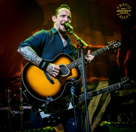 MICHAEL POLSEN - VOLBEAT (photo Travis Failey / RSEN)