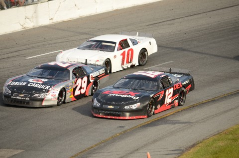 Harrison and Jeff Choquette (29) side by side (RODNEY MEYERING RSEN)