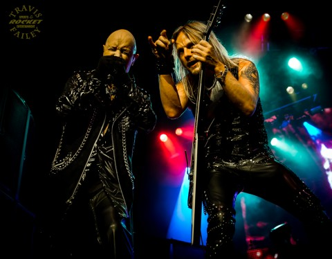 ROB HALFORD & RICHIE FAULKNER - Judas Priest (photo TRAVIS FAILEY / RSEN)