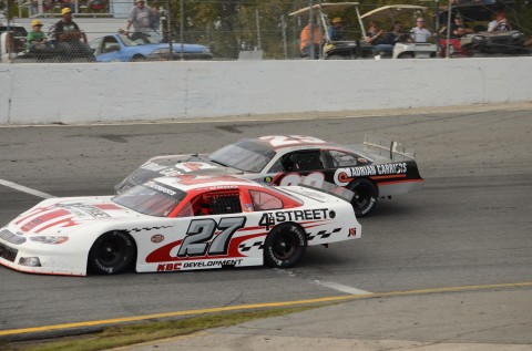 NO GOOD! Bobby Good was caught by Travis Cope and finished second (RODNEY MEYERING RSEN)