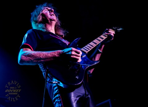 GLENN TIPTON - Judas Priest (photo TRAVIS FAILEY / RSEN)