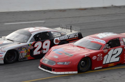 Augie Grill (112)  and Jeff Choquette using it up  (RODNEY MEYERING RSEN)