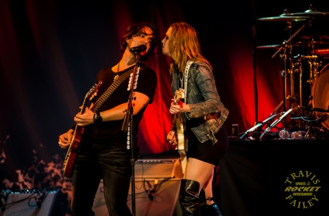 Joe and Lzzy (photo Travis Failey / RSEN)