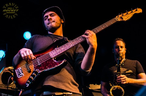 Greg Colacino (bass)  Ellis Jasenovic (sax) TYS
