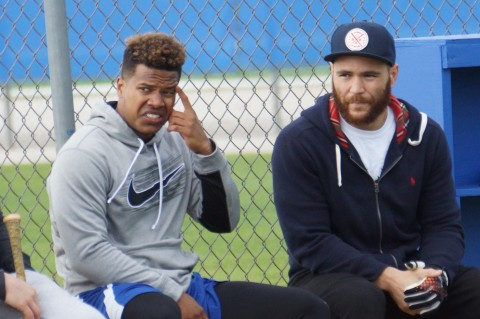 Stroman (left) and Martin  (EDDIE MCIHELS PHOTO)