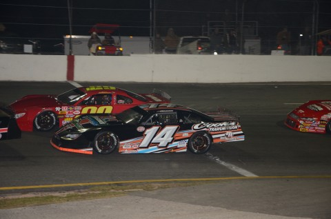 #14 Austin Nason managed a 4th palce finish (photo Rodney Meyering / RSEN)
