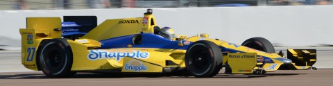 Marco Andretti looks strong at times finished 10th two spots up from start (photo Rodney Meyering  / RSEN)