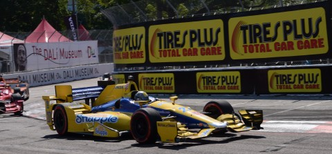 Marco Andretti (photo Rodney Meyering  / RSEN)