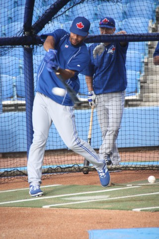 Dalton Pompey (EDDIE MICHELS PHOTO)