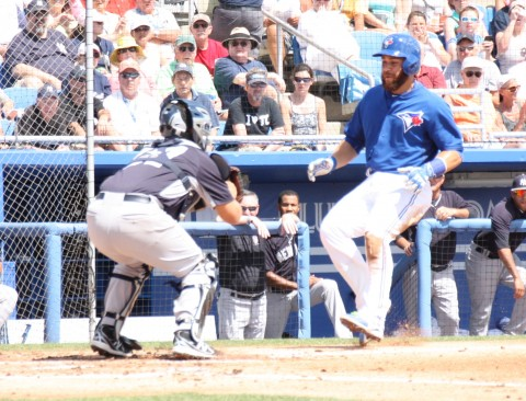 Russell Martin is not going to score here (EDDIE MICHELS PHOTO)