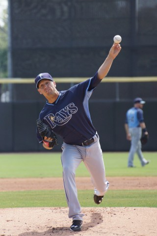 Tampa Bay Rays starter Everett Teaford (1-1) took his first loss of the spring allowing two runs on three hits and struck out two over three innings of work in a 3-0 loss to the Toronto Blue Jays on Sunday.  The Ray were only able to manage three hits in support of Teaford and three relievers.