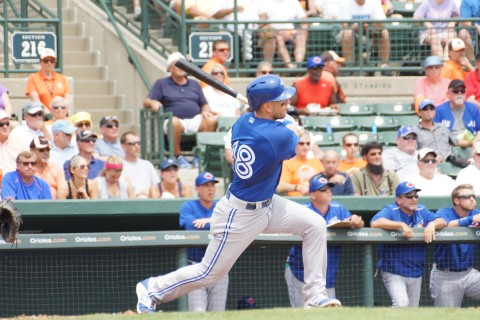 Steve Tolleson's 3rd inning homer (EDDIE MICHELS PHOTO)