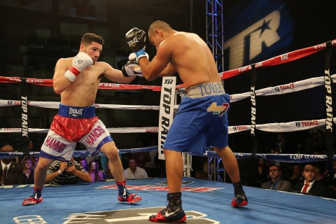 "Super Lightweight Julian ""Hammer Hands"" Rodriguez (9-0, 7 KO's) (photo Alex Menendez / LatinBox Communications)"
