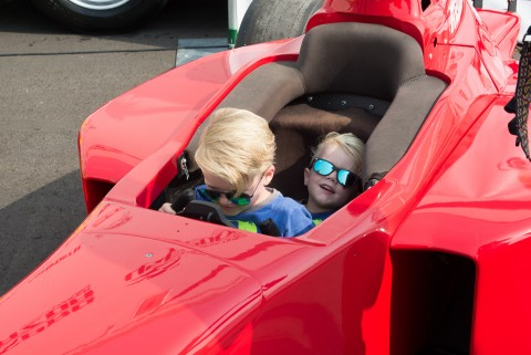Seeing the Wheldon boys always brings a smile to your face (photo Travis Failey / RSEN)