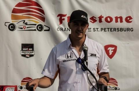 Indy Car veteran Graham Rahal (photo Travis Failey / RSEN)