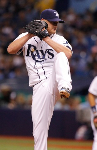Alex Cobb vs the NY Yankees in September (photo USA TODAY Sports / Kim Klement)