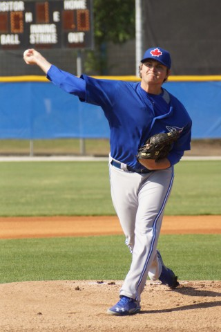 CHAD JENKINS PITCHING FOR AAA BUFFALO (EDDIE MICHELS PHOTO)