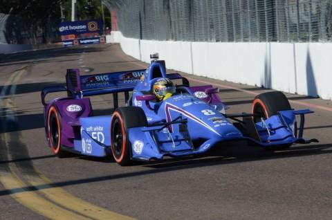 SageKaram finished nineteenth one lap down. (Rodney Meyering / RSEN)