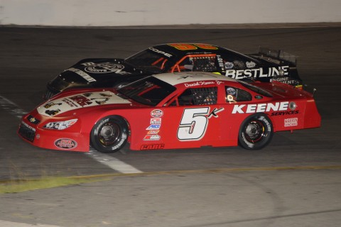 Daniel Keene Jr. side by side with Travis Cope (Rodney Meyering photo)