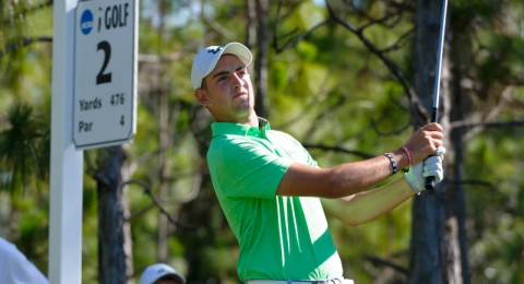 Rising sophomore  golferClaudio Correa earns automatic invite to U.S. Amateur Championship (photo Tom Britt / University South Florida Athletics)