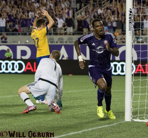 Goooaaal Cyle Larin! (photo Will Ogburn)